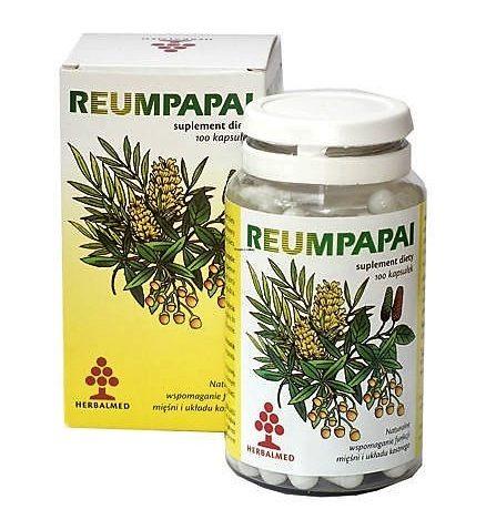 reumpapai 100 kaps. Herbalmed antidotum na bóle stawów i mięśni